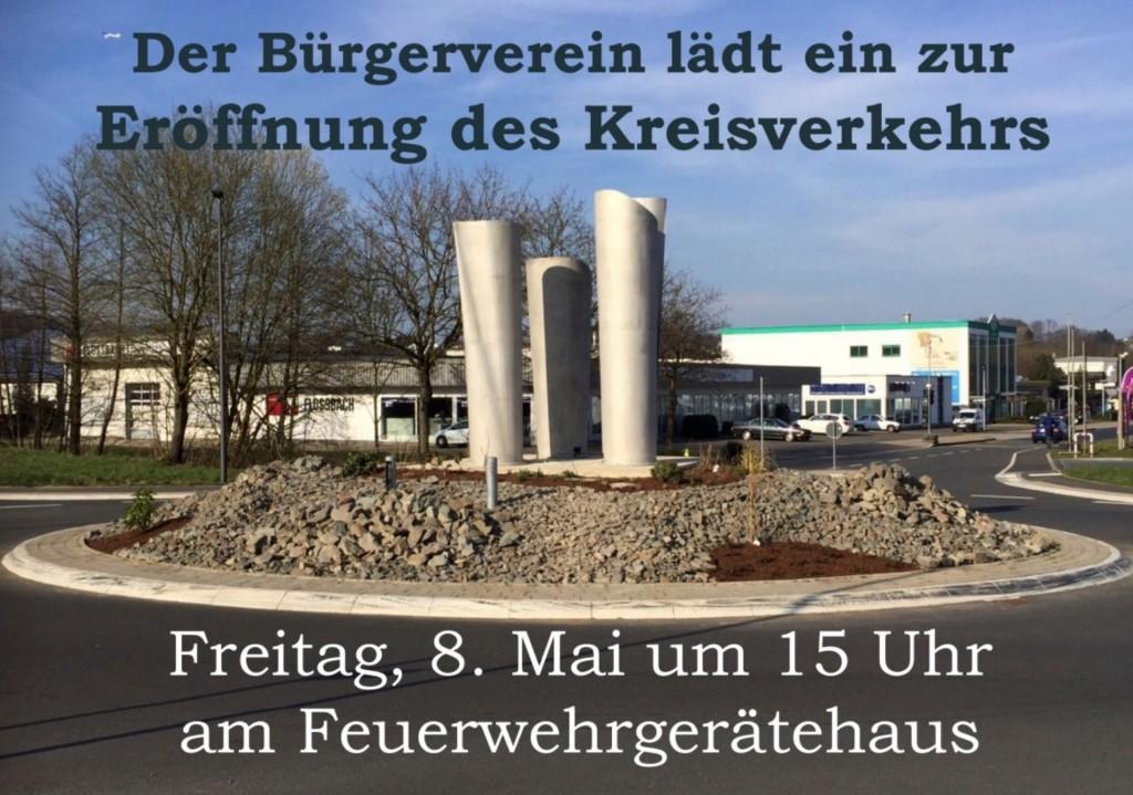 Plakat Kreisverkehr
