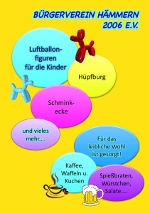 Flyer Bürgerfest 2015 rück